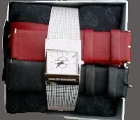 Dámské hodinky Multi Color Interchangable Strap Watch