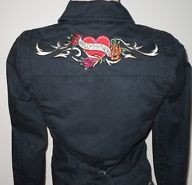 Womens Crimson Heart Cotton Jacket