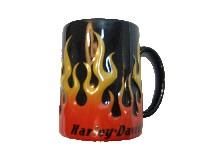 Hrníček Harley-Davidson flame plameny