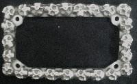 Rámeček na SPZ Skull 37857- NOVÉ