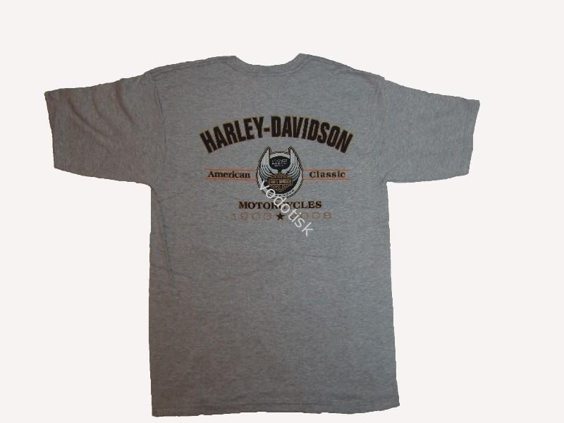 75db9ab347e7 Pánské tričko Harley-Davidson 105th - II.
